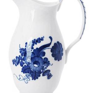 Blue Flower, Curved, Jug | No. 1106443 | Alt. 10-1609 | DPH Trading