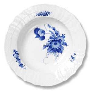 Blue Flower, Curved, Compote Plate ø14cm