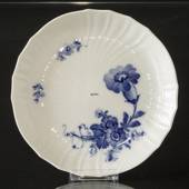 Blue Flower, Curved, Plate, Royal Copenhagen ø19cm