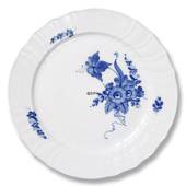 Blue Flower, Curved, Plate, Royal Copenhagen ø20cm