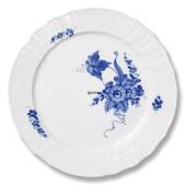 Blue Flower, Curved, Plate, Royal Copenhagen