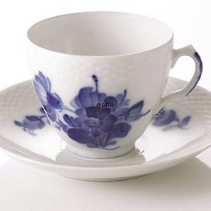 Blue Flower, Braided, Cup and Saucer, Royal Copenhagen | No. 1107068 | Alt. 10-8040 | DPH Trading