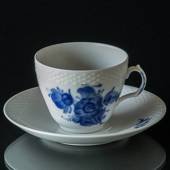 Blue Flower, Braided, Coffee Cup and Saucer, Royal Copenhagen