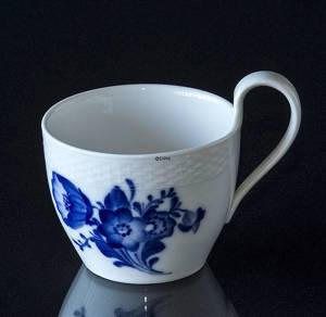 Blue Flower, Braided, Coffee cup with high handle WITHOUT saucer, Royal Cop...