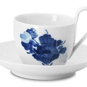Blue Flower, Braided, Coffee cup with high handle, Royal Copenhagen | No. 1107089 | Alt. 10-8194 | DPH Trading