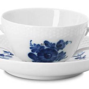 Blue Flower, Braided, Soup Cup, small, no Cover, Royal Copenhagen | No. 1107102 | Alt. 10-8282 | DPH Trading