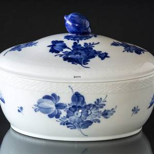 Blue Flower, braided, soup tureen