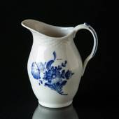 Blue Flower, braided, Cream Jug