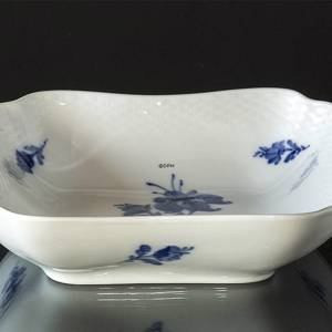 Blue Flower, Braided, square Salad Bowl, 21cm