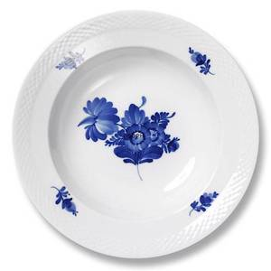 Blue Flower, Braided, Soup plate 23cm | No. 1107605 | Alt. 10-8106 | DPH Trading