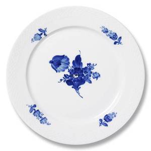 Blue Flower, Braided, plate, Royal Copenhagen ø19cm | No. 1107620 | DPH Trading