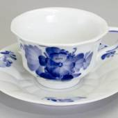 Blue Flower, Angular, Coffee Cup, Royal Copenhagen