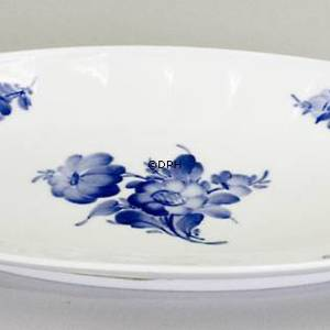 Blue Flower, Angular, oval Pickle dish 24cm | No. 1108353 | Alt. 10-8589 | DPH Trading