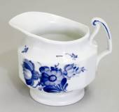 Blue Flower, Angular, Creme Jug