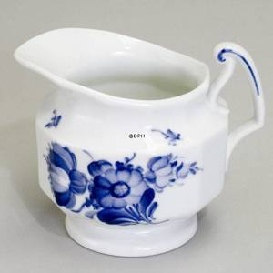 Blue Flower, Angular, Cream Jug
