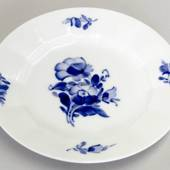 Blue Flower angular flat cake plate 15cm