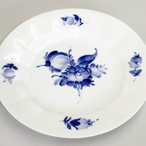 Blue Flower, Angular Plate, Royal Copenhagen ø22cm