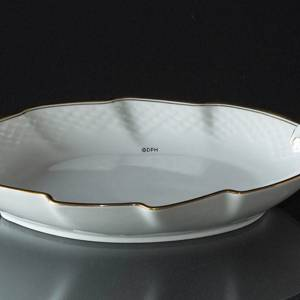 Hartmann large leaf shaped pickle dish, Bing & Grondahl Royal Copenhagen 25cm | No. 1111199 | DPH Trading
