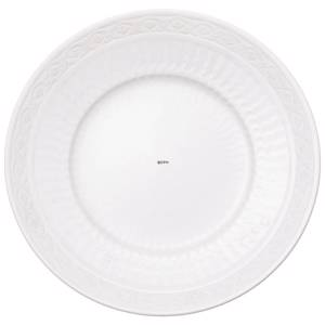 White Fan, plate 25cm, Royal Copenhagen