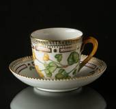 Flora Danica coffee cup and saucer 17 cl, Royal Copenhagen