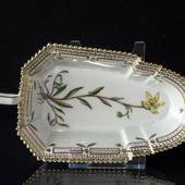 Flora Danica rectangular pickle dish, Royal Copenhagen