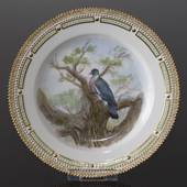 Fauna Danica plate with wood pigeon, Royal Copenhagen