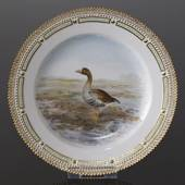 Fauna Danica plate with greater white-fronted goose, Royal Copenhagen