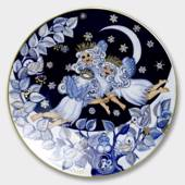 2001 The Snow Fairies' Christmas plate, Snow Fairies, Bing & Grondahl