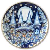 2003 The Snow Fairies' Christmas plate, The Snow Fairies' Castle, Bing & Gr...