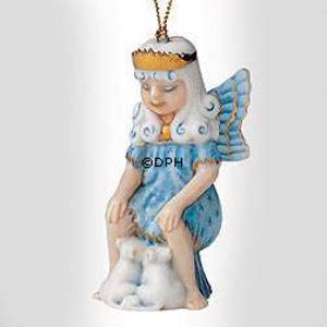 Christmas Figurine Ornament 2003, Snow Fairy with mice | Year 2003 | No. 1203773 | DPH Trading