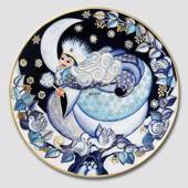 2004 The Snow Fairies' Christmas plate, Queen Winter, Bing & Grondahl