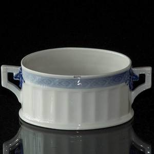 Blue Fan sugar bowl without lid, capacity 17 cl. Royal Copenhagen