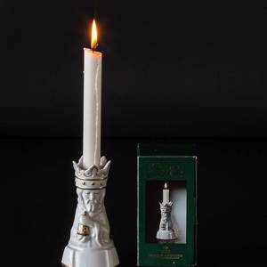 Melchior, king with frankincense, one of the three wise men, Royal Copenhagen candleholder | No. 1243334 | DPH Trading