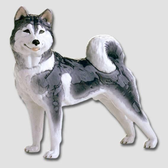 Siberian Husky Royal Copenhagen Dog Figurine No