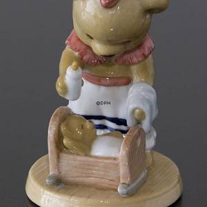 Victoria 2003 Annual Teddy Bear figurine, Bing & Grondahl | Year 2003 | No. 1244349 | DPH Trading