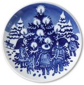 1998 The Children's Christmas plate 1st day issue plate with plaq., Royal C...