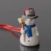 Figurine Ornament 2003, Snowman, Royal Copenhagen