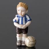 Michael Boy playing soccer, From the series of mini children from Royal Cop...