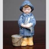 Peter fisherman's boy, From the series of mini children from Royal Copenhag...