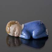 Baby boy sleeping, Royal Copenhagen figurine