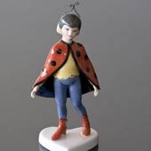Dressed up Children, Ladybird, Royal Copenhagen figurine