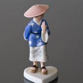 Dressed up Children, Chinese Girl, Royal Copenhagen figurine