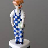 Dressed up Children, Clown, Royal Copenhagen figurine