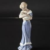 Scandinavian Ladies, woman with Child, Royal Copenhagen figurine