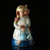 Troll, Mother with kettle, Royal Copenhagen figurine