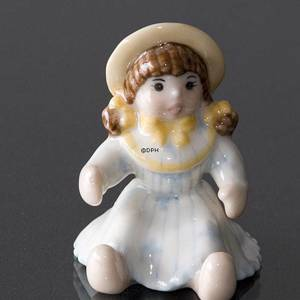 Doll waiting for a mommy, Royal Copenhagen Toys figurine