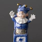 Jack in a box springing up, Royal Copenhagen Toys figurine