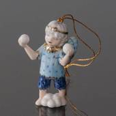 Christmas Figurine Ornament 2005, Snow Fairy with ice, Bing & Grondahl