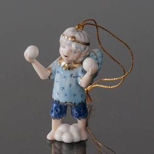 Christmas Figurine Ornament 2005, Snow Fairy with ice, Bing & Grondahl | Year 2005 | No. 1249165 | DPH Trading