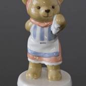 Victoria 2005 Annual Teddy Bear figurine, Royal Copenhagen